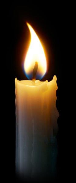 paląca się świeca